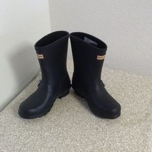 Hunter Original Black Rubber Rain Boots